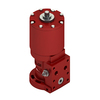 damcos brcf single-acting spring return actuator