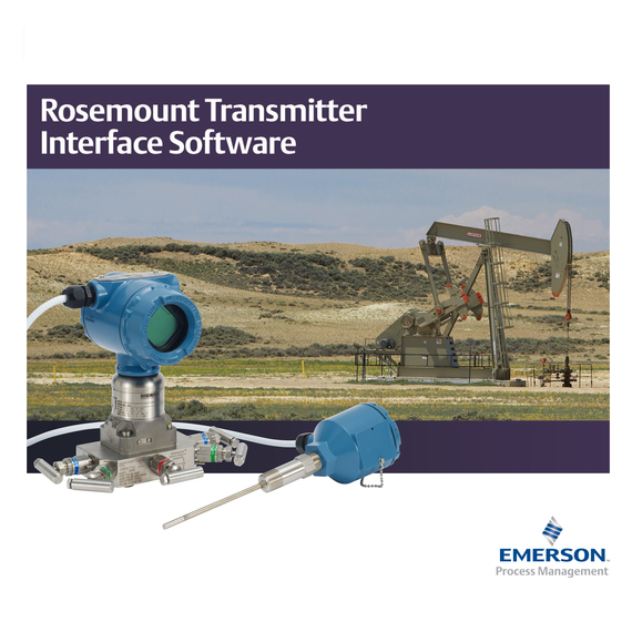 rosemount transmitter interface software