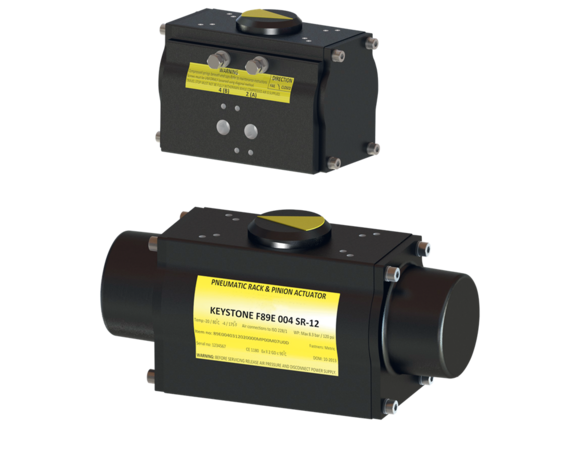F89 Pneumatic Quarter-turn Actuator