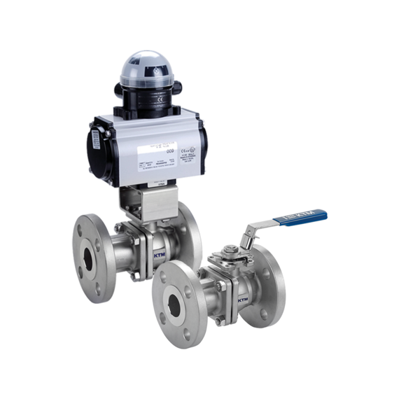 Series EF190 Two-piece Full Bore Ball Valves