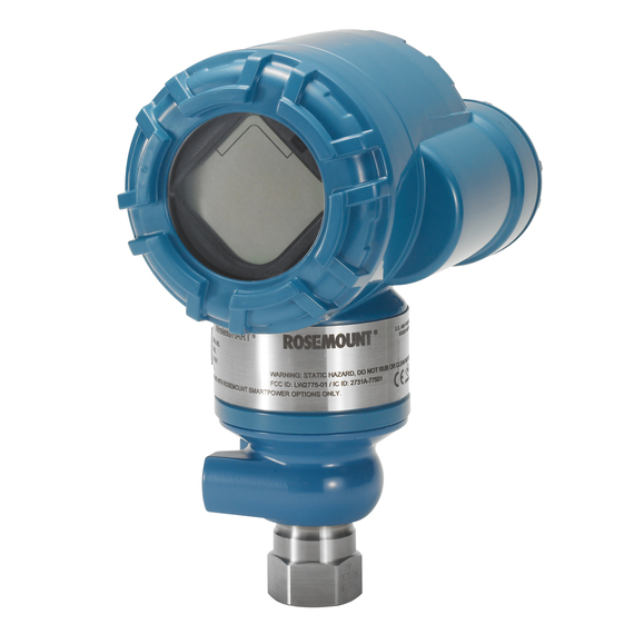 Rosemount™ 3051 Wireless In-Line Pressure Transmitter